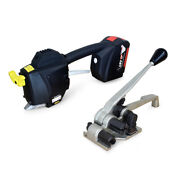 Teknika Strapping Systems Tek-1 Battery Strapping Sealer And Hand Tensioner