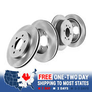 Front And Rear Quality Oe Brake Disc Rotors Set For Infiniti Qx56 Nissan Armada