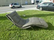 Magnificent Roche Bobois Leather Chaise Lounge 5k+ New
