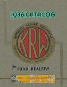 1936 K.r.wilson Catalog Early Ford V8 Flathead Model A And T 1935-36 Ford Tools