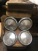 1960 - 61 Ford Fairlane / Galaxie / Starliner Poverty Hub Caps Used Barn Find
