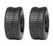Two Tires 18x8.50-8 Turf Tires 4 Ply Tubeless Lawn Mower Tractor Tires 18 850 8