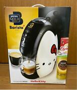 Hello Kitty Nescafe Gold Blend Barista Limited Model Coffee Maker Japan