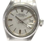 Rolex Oyster Perpetual Date 6919 Cal.2030 Automatic Ladies Watch_590794