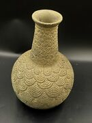 Old Ancient Antique Stone Vessel Jar From Ancient Times