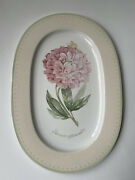 Villeroy And Boch Florea 16 Fine China Oval Platter 1748 Luxembourg