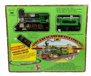 Vintage Great American Express Train Set By New Bright - 1988 Not Tested
