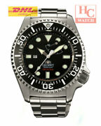 New Orient Sel02002b Pro Saturation Professional Diver 300m Power Reserve Watch