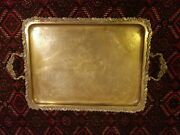 Antique Tray Warsaw Norblin And Co 1875 Measuring 21 X 16