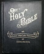 The Holy Bible 1973 Red Letter Edition Dove Publishers Kjv W/ Childrens Stories