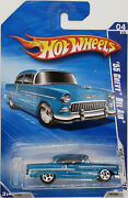 Hot Wheels And03955 Chevy Bel Air Blue Toysrus Exclusive - Hot Auction 4/10 2010