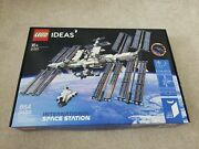 Lego Ideas International Space Station 21321 Building Kit 864 Pieces Fast Ship