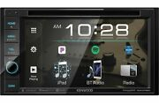 Kenwood Ddx376bt 6.2andrdquo Bluetooth Dvd Receiver With Touchscreen Display Car Stereo