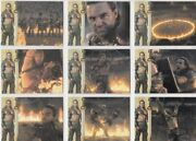 Spartacus 2012 Premium Gods Of The Arena Battle For Freedom 9 Card Chase Set
