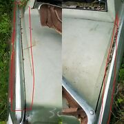 1968 68 Lincoln Continental Rh And Lh Upper 1/4 Panel Trim Stainless Moldings Oem
