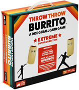 Throw Throw Burrito By Exploding Kittens Extreme Outdoor Edition For Family