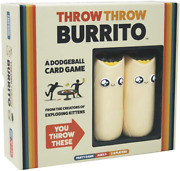 Throw Throw Burrito By Exploding Kittens, A Dodgeball Card Game For The Family