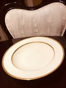 1830/ M 147 Lenox Gold Trim Encrusted Dinner Plate For Ovington Brothers Ny