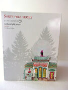 Dept 56 North Pole Series Northern Lights Power 6003112 New In Sealed Box
