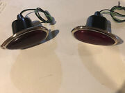 1938 1939 Ford Tail Lights Pair