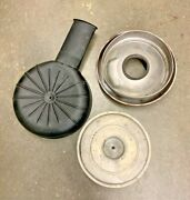 1958 Chevy Oil Bath Air Cleaner 4 Barrel Factory Complete