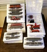 Budweiser Clydesdales Train Car Holiday Express Hawthrone Village Coa New