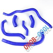Fit Yamaha V-max 1200 Vmax Vmx12 Silicone Coolant Pipe Radiator Hose Kit Blue