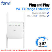 10pcs Dual Band Ac1200 Wifi Range Extender Repeater Wireless Pc Amplifier Router