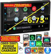 05-07 Dodge Magnum Charger Wireless Apple Carplay Android Auto Navigation Stereo