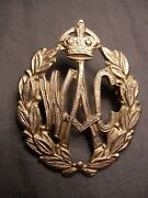 Victoria Womenand039s Ambulance Corps Wwii Cap Badge Wac W.a.c. Post 1941 Canadian
