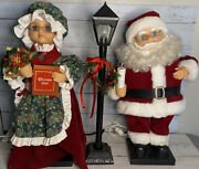 Trim A Home Animated Mr. And Mrs. Claus