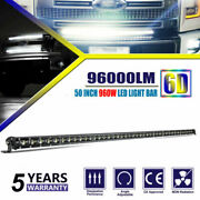 50 Ultra-thin Led Light Bar 960w Combo Beam Driving Lamp For Truck Offroad 4wd