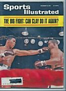 2 Sports Illustrated Magazines Cassius Clay 11-16-1964 And George Chuval0 2-1-1965