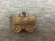 Vintage Covered Conestoga Wagon Cracker Jack Gumball Prize Charm Jewelry