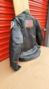 River Road Navy Rescue Swimmer Lather Jackets Size 46