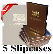 Dansco Album Slipcase 5/8 Pack Of 5 Coin Protection Corrosion Inhibiting Covers