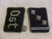 German Rare Orig Pre/early Ww2 Waffen Elite Guard Officer Ost Districts Tabs