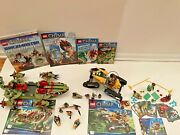 Lego Legends Of Chima Lot Of 4 Sets 70005 70005 30252 70113 And 4 Books