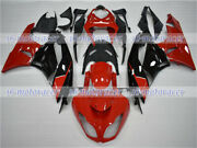 Fairing Fit For 2009-2012 Zx6r 636 Black Red Injection Molding Plastics Set Z15