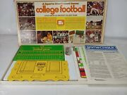 Vintage 1972 Sports Illustrated College Ncaa Football Board Game Parts