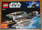 New Lego Star Wars 8095 Instructions Only, General Grievous' Starfighter, 2010