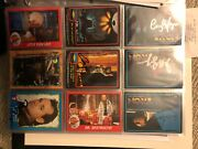 Movie Star Autographed Cards