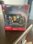 Coca Cola Main Street Collection Christmas Green General Store Truck