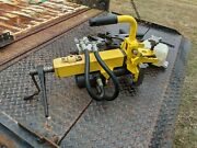 Matweld 01500 Hydraulic Rail Drill Train Track W/ Multiple Bit Sizes