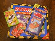 1996 Binary Arts Rush Hour Traffic Jam Puzzle W/ Add On Card Sets 2 And 3 Age 8+