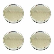 4x Us Mags Chrome Wheel Center Hub Caps 3-1/8od Snap-in