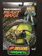 1997 Hasbro Transformers Beast Wars Deluxe Transmetals Cheetor New In Package