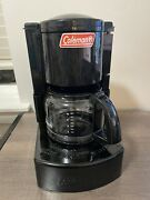 Coleman Camping Coffee Maker Black 5008-700 Hunting Fishing Outdoors