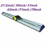 Manual Sliding Kt Board Trimmer Cutting Ruler, Photo Pvc Pet Cutter With Ruler
