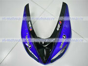New Black Blue Front Nose Cowl Upper Fairing Fit For 2006-2007 Zx-10r Injection